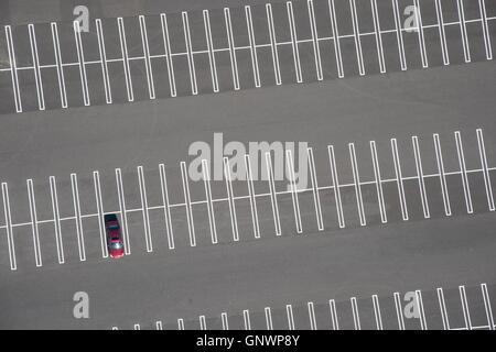 Luftaufnahme des Parkplatz abstrakt - Stockfoto