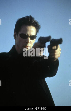 Keanu Reeves *** lokalen Caption *** 1999, Matrix, Matrix - Stockfoto