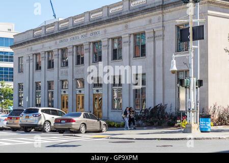 Die historische United States Post Office in der Innenstadt von Yonkers, New York. - Stockfoto