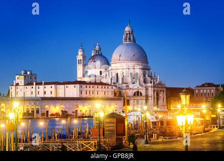 Santa Maria della Salute, Venedig, Italien - Stockfoto
