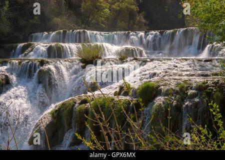Krka Wasserfälle, Kroatien - Stockfoto
