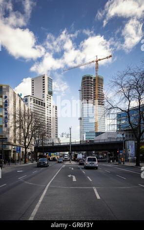 Upper West bin Ku-Damm In Berlin - Stockfoto