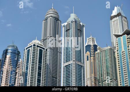 Dubai Marina - Stockfoto