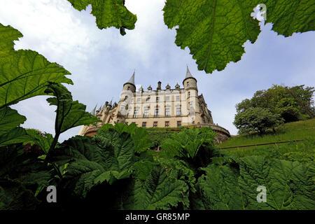 dunrobin castle in schottland stockfoto bild 61876073 alamy. Black Bedroom Furniture Sets. Home Design Ideas