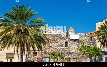 Die griechisch-orthodoxe Kirche in Tiberias - Stockfoto