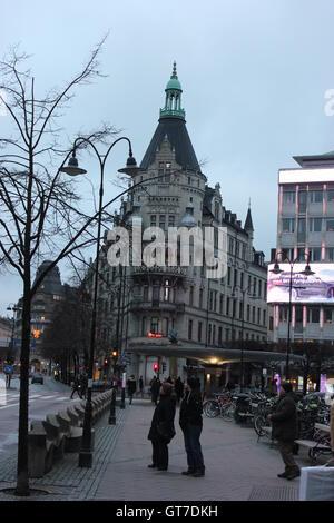 Daneliuska Huset - Danelius Haus am Stureplan in Stockholm, Schweden - Stockfoto