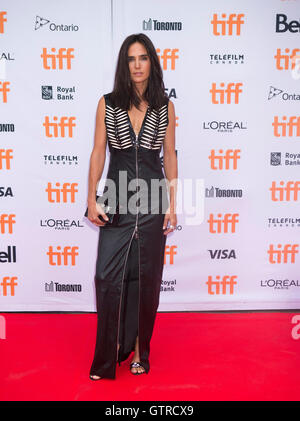 Toronto, Kanada. 9. September 2016. Schauspielerin Jennifer Connelly posiert für Fotos vor der Weltpremiere des - Stockfoto