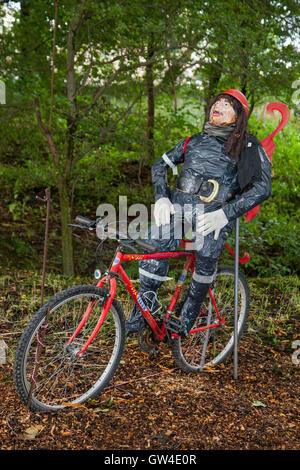 """Altham, Lancashire, UK. 10. September 2016. Das """"Altham Engel Festival. Vierzig Leute aus dem Dorf haben Leben gemacht - Stockfoto"""