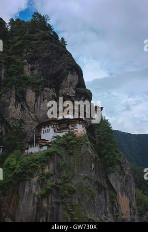 Paro Taktsang oder des Tigers Nest Kloster. Stockfoto