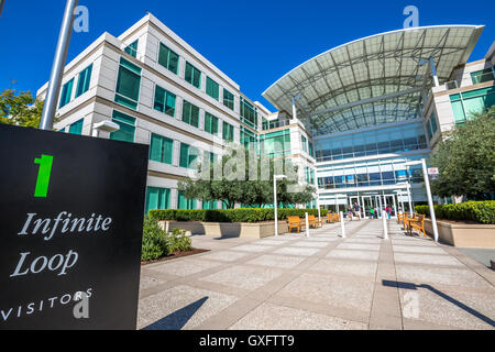 Apple-Hauptquartier Endlosschleife - Stockfoto