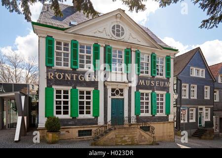 Deutsche Roentgen-Museum in Remscheid, Deutschland, Nordrhein-Westfalen, Bergisches Land, Remscheid - Stockfoto