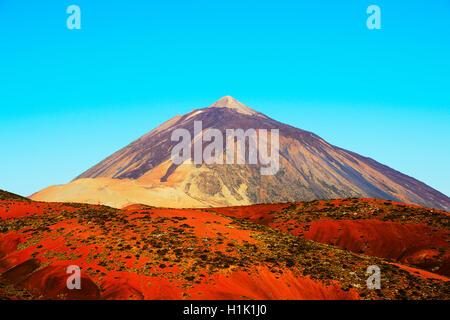 Pico del Teide, Aguamansa, Parque Nacional del Teide, Teneriffa, Kanarische Inseln, Spanien - Stockfoto