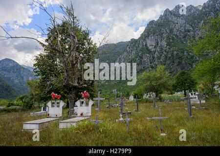 Albanische Alpen - Stockfoto