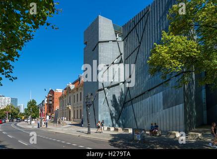 Jüdisches Museum (Jüdisches Museum), Lindenstrasse, Berlin, Deutschland - Stockfoto