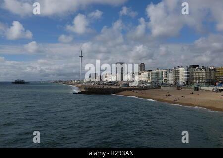 Brighton Seafront, East Sussex, England, UK. - Stockfoto