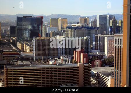 Luftaufnahme von Las Vegas.Nevada.USA - Stockfoto