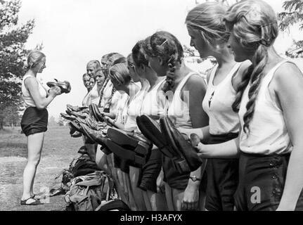 BDM-Camp, 1937 Stockfoto, Bild: 122548599 - Alamy