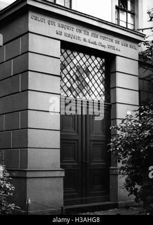 Hugenotten-Waisenhaus in Berlin, 1935 - Stockfoto