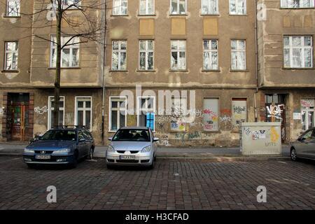 Berlin, Friedrichshain, Deutschland. - Stockfoto