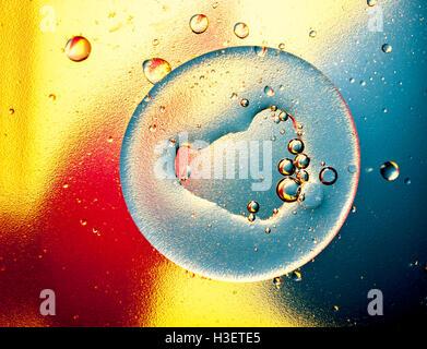 Wasserblasen - Stockfoto