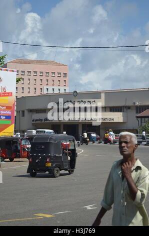 Bahnhof Galle, Sri Lanka - Stockfoto