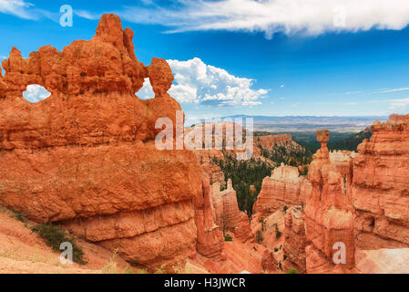 Schöne Felsen im Bryce-Canyon-Nationalpark, Utah, USA. - Stockfoto
