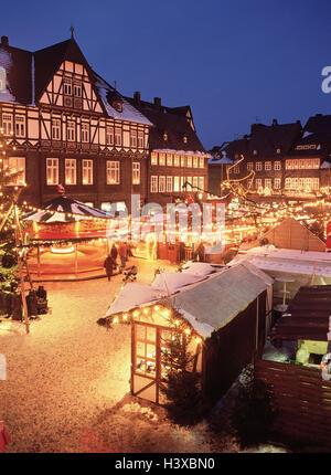 deutschland niedersachsen goslar weihnachtsmarkt am. Black Bedroom Furniture Sets. Home Design Ideas