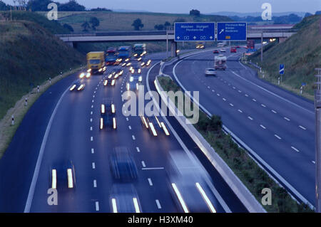 Verkehr Nahe A8