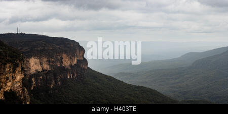 Die Blue Mountains, New South Wales, Sydney, Australien - Stockfoto