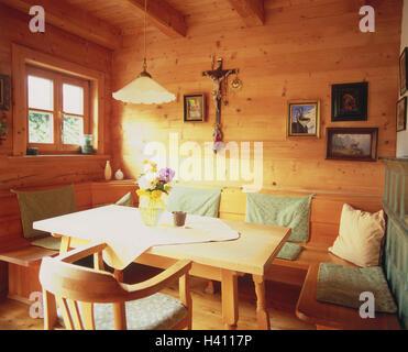 ... Detail, Zimmer, Bauernstube, Küche, Wohnraum, Wohnraum, Essecke, Eckbank ,