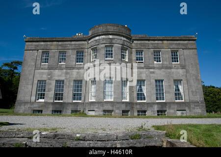 LISSADELL HOUSE, COUNTY SLIGO, IRLAND, DIE HEIMAT DER GORE-STÄNDEN EINSCHLIEßLICH CONSTANCE GORE-STAND, DIE NACH - Stockfoto