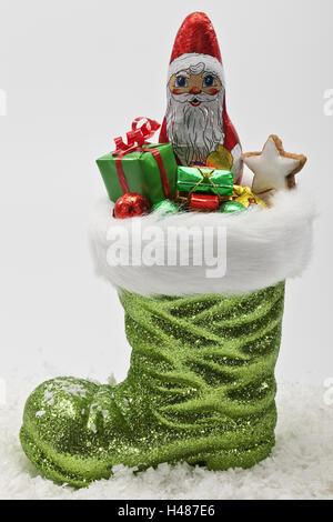 Nikolaus Stiefel, Süßigkeiten Stockfoto, Bild: 284098632 Alamy