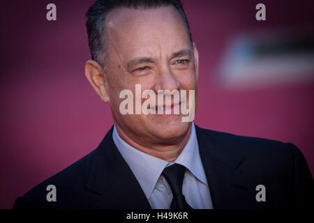 Rom, Italien. 13. Oktober 2016. Rom, 13. Oktober, Rom Film Festival 11 Ausgabe, roten Teppich Tom Hanks. Abgebildete - Stockfoto