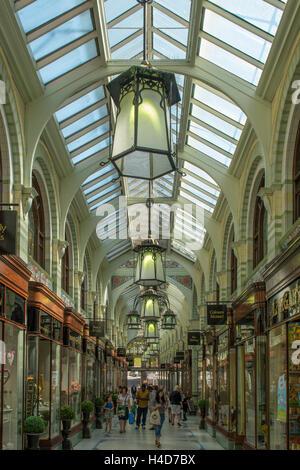 Royal Arcade, Norwich, Norfolk, England - Stockfoto