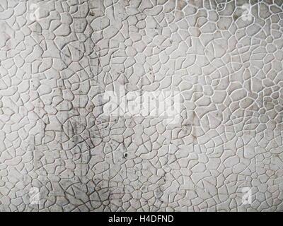 Stein-Muster Hintergrund lackiert in weiß, mit einigen Flecken und Kratzer - Stockfoto
