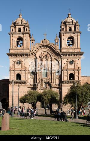 Kirche der Gesellschaft Jesu in Cusco, Peru - Stockfoto