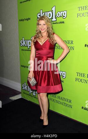 Jodie Sweetin im Ankunftsbereich für Skip1 Night Event, Loews Hotel Hollywood, Los Angeles, CA 15. Oktober 2016. - Stockfoto