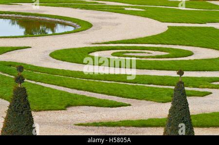Versailles Gärten, Schloss Versailles, UNESCO-Weltkulturerbe, Yvelines, Region Ile de France, Frankreich - Stockfoto