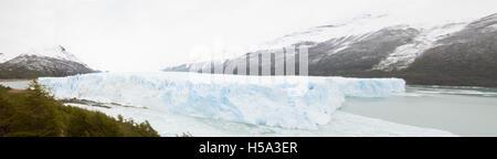 Perito Moreno-Gletscher, Lago Argentino, der patagonischen Provinz Santa Cruz, Argentinien - Stockfoto