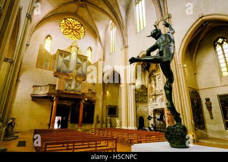 Kirche im Museum Augustins, Toulouse, Frankreich - Stockfoto