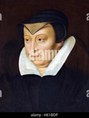 Katharina von Medici (Catherine de Médicis: 1519-1589), Königin von Frankreich von 1547 bis 1559, als die Frau von - Stockfoto