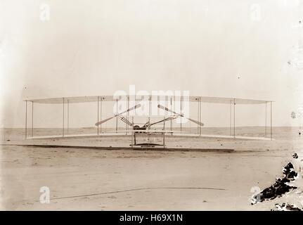 1903-Maschine, Vorderansicht. - Stockfoto