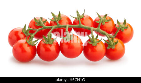 Cherry-Tomaten, isoliert - Stockfoto