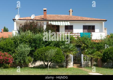 Ferien Haus, Novigrad, Istrien, Kroatien, Europa - Stockfoto