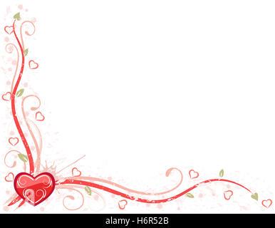 ... Karte Schreiben Romantik Liebe Verliebt Verliebte Sich In Liebe Herz  Party Feiern Valentinstag Während Die Tages