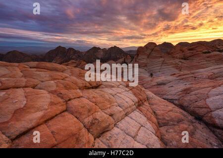 Candy Klippen, Utah, Amerika, USA - Stockfoto