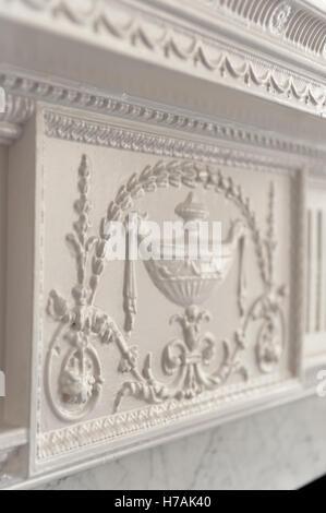 Dekorplatte in Gloucester Place Interieur, London, England, UK - Stockfoto
