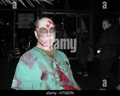 The walking dead Zombie - Stockfoto