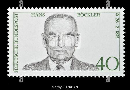 Deutsche Briefmarke 1975 100 Geburtstag Von Matthias Erzberger