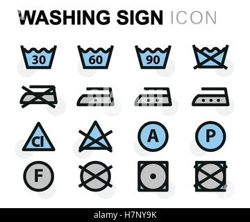 etikett waschen pflegehinweise auf dem etikett im. Black Bedroom Furniture Sets. Home Design Ideas